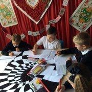 Writing in Wonderland!