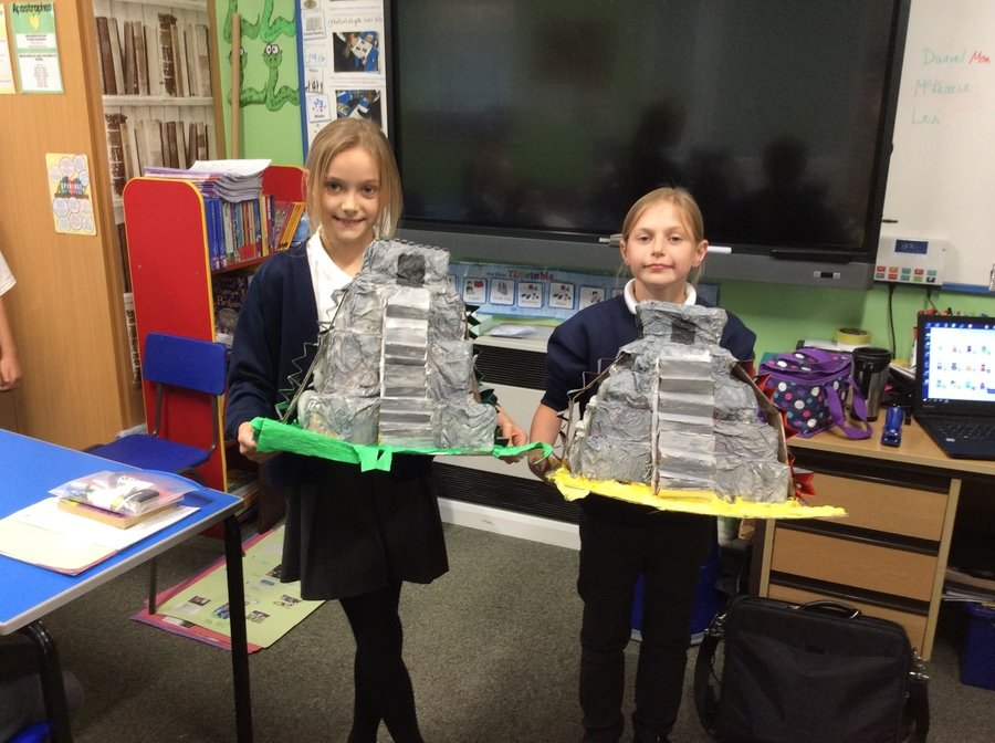 Another fantastic project! The children have worked exceptionally hard- well done!