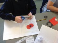 Making Poppies in Year 5