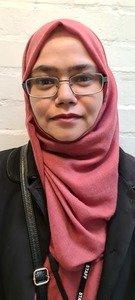 Nasima Ali<br>Midday Meals Supervisor