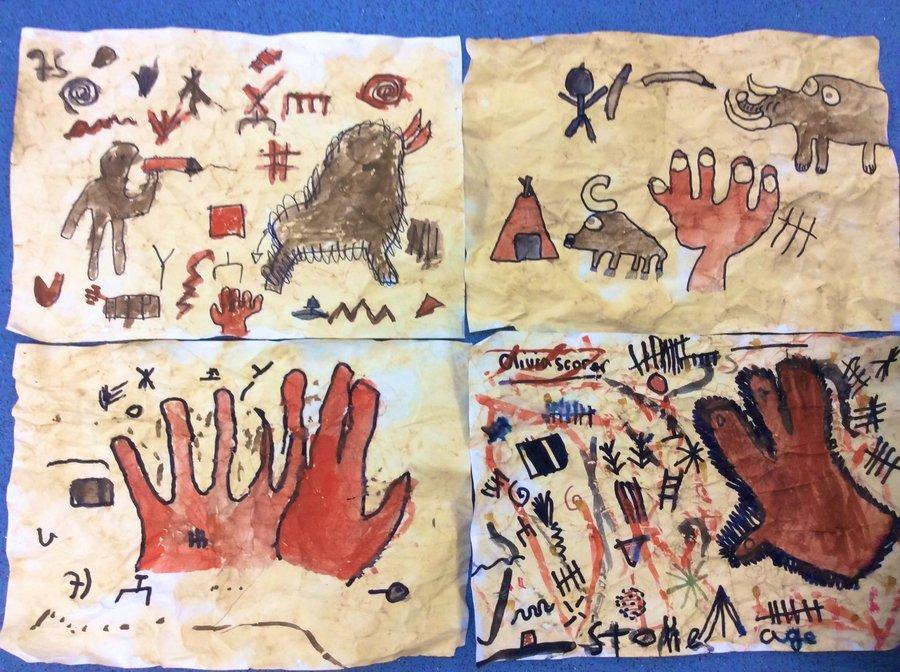 Y3 Cave paintings