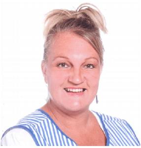 Justine McAllister<br> Meal Time Assistant