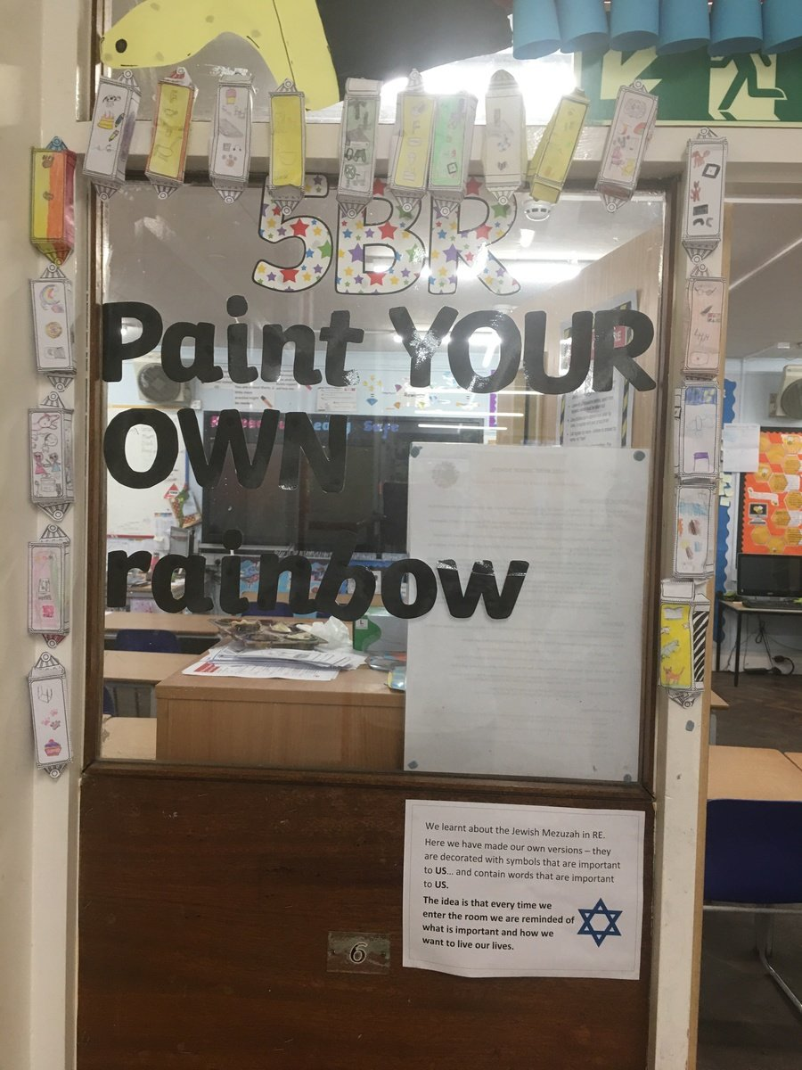 In Religious Studies we learnt about the importance of the Mezuzah to the Jewish Faith. We created our own to symbolise what is important to us and wrote positive affirmations to put inside the case.
