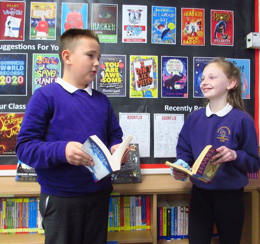 Bookflix in Year 6