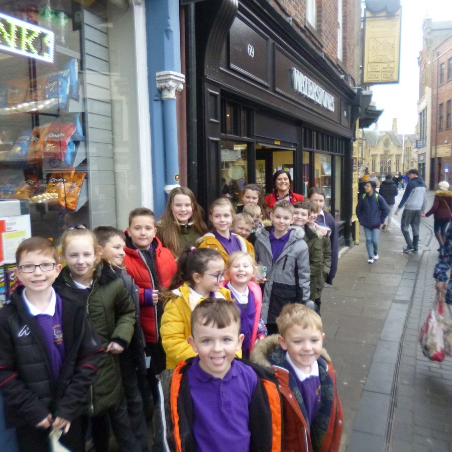 A Reading Reward trip to Waterstones!