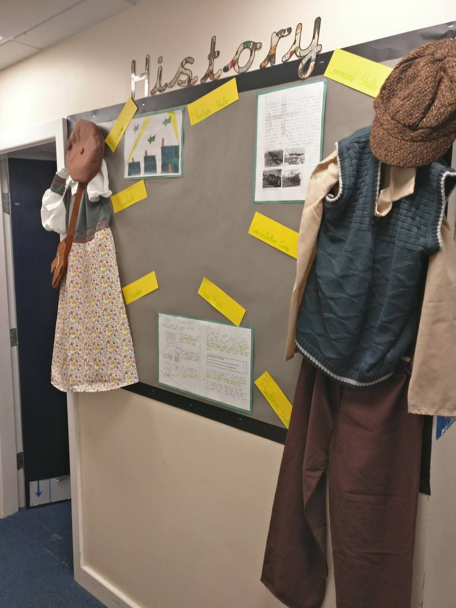 What would children our age have worn during the Second World War?
