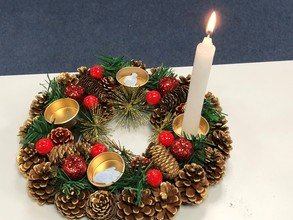 We celebrated advent...