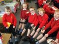 Our odd socks are helping us with our reading!.JPG