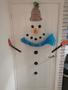 Miss Bell's snowman door