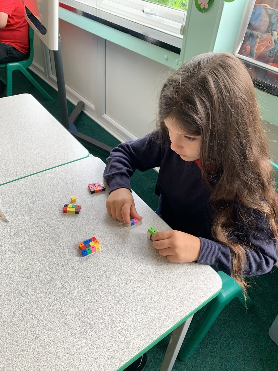 Maths Manipulatives in Year 3