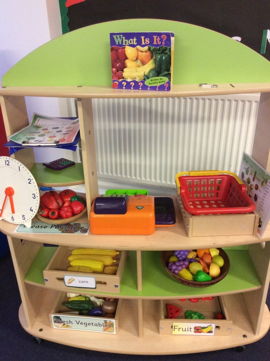 Can you make a fruit and vegetable shop?