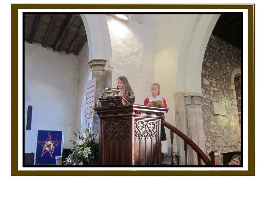 Reading at the Christmas Service