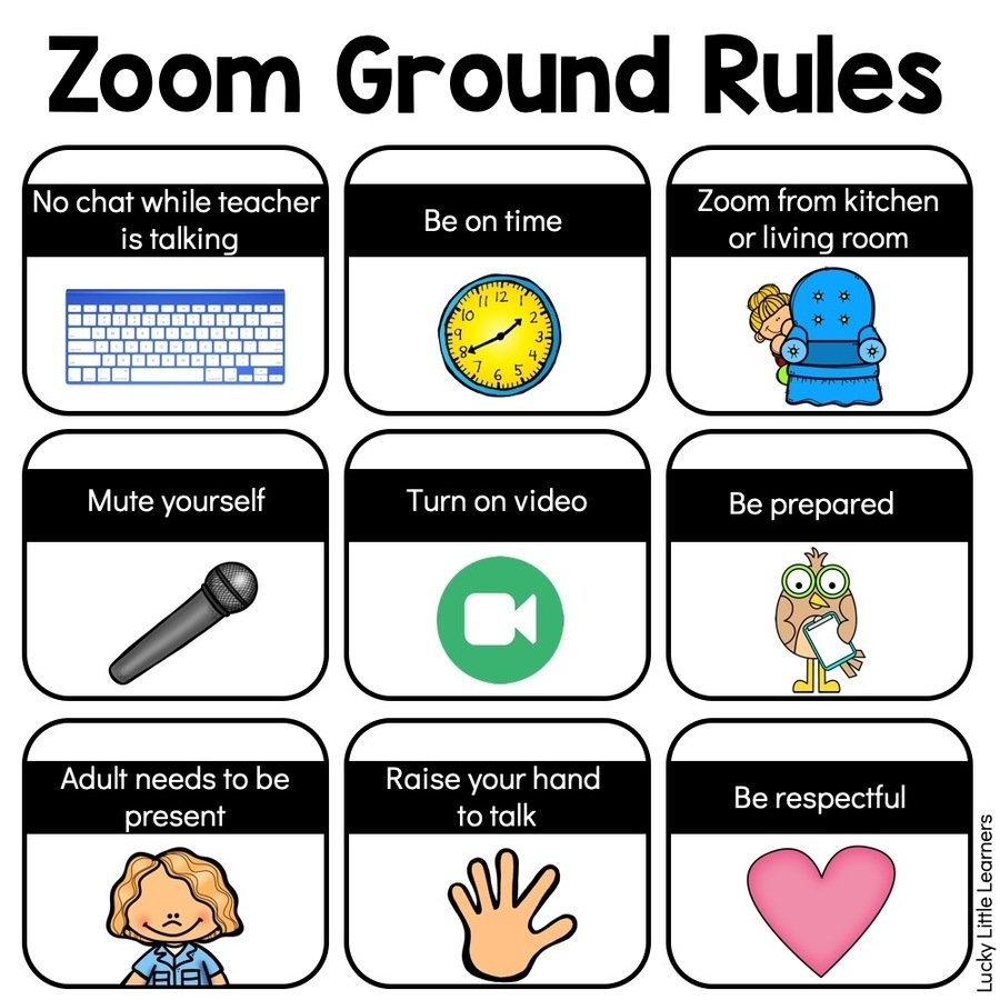 Our Zoom Rules