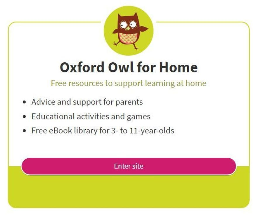 You can read books on the Oxford Owl website