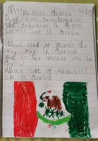 Ivy wrote some facts aboutMexico
