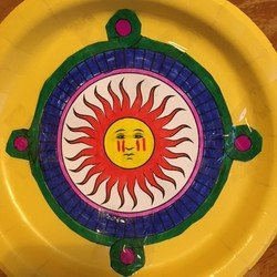 Christa's Aztec sun