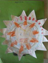 Janella's Aztec sun