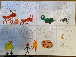 Jessica's Little Red Ant storymap