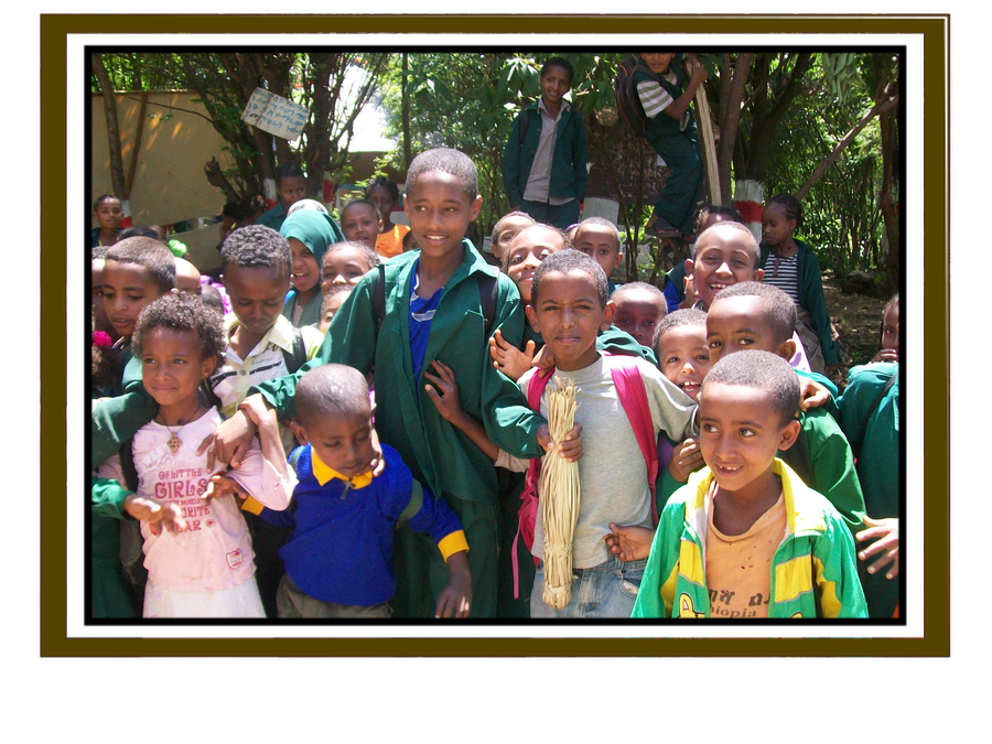 Some of our friends in Ethiopia.