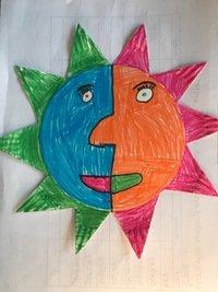 Amelia's Aztec sun