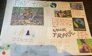 Leena's Fair Trade poster.