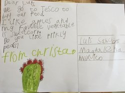 Christa's postcard