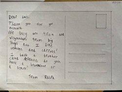Ralph's postcard