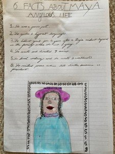Emily's English work