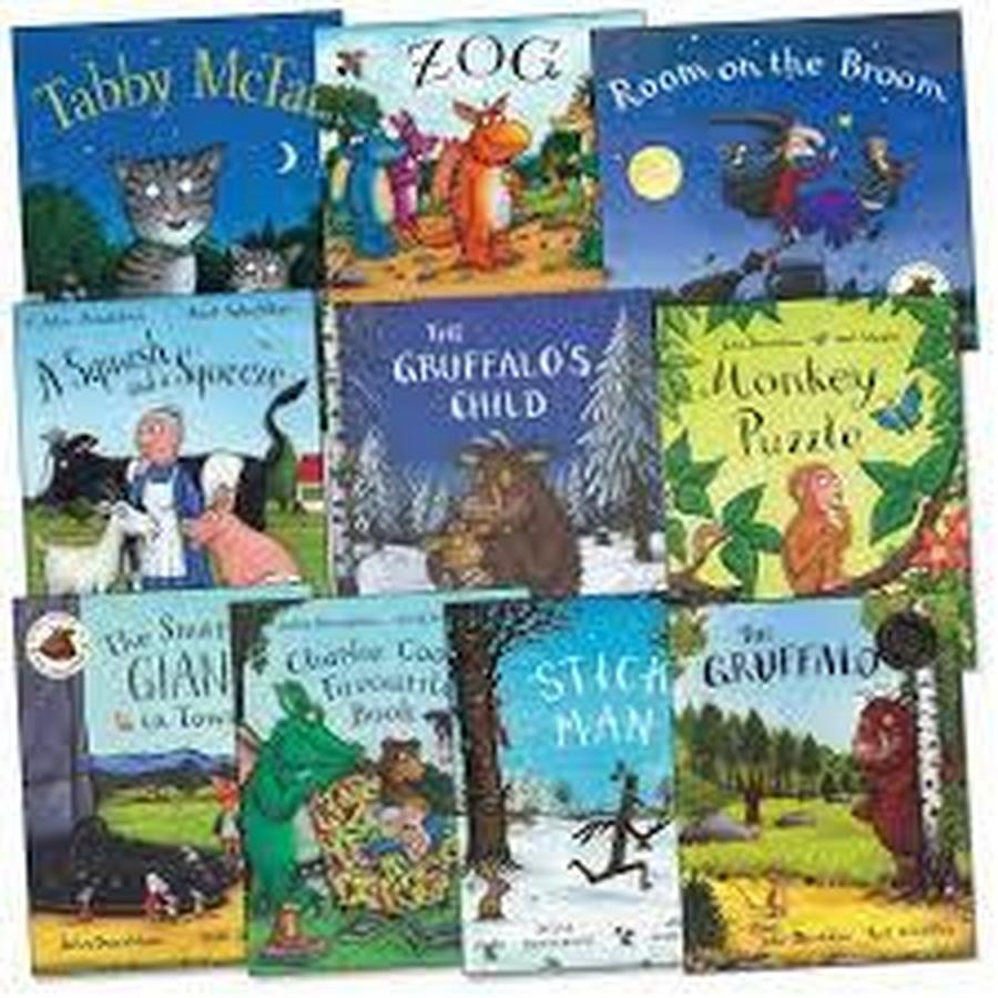 Free Julia Donaldson books home learning packs to download