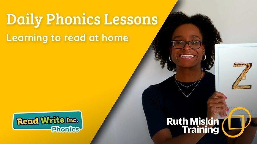Daily Read Write Inc Phonics lessons