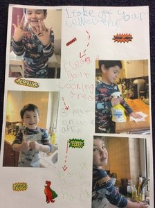 Harry's food safety poster.