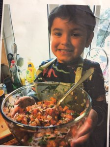 Harry's Tomato Salsa - it looks delicious!