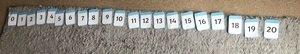 Poppy's number line