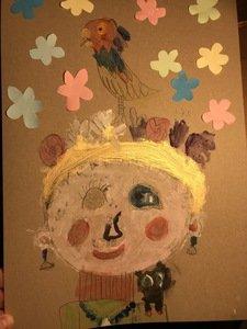 Edie's self-portrait