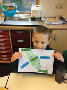 Harry's geography work