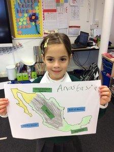Anastasia's geography work
