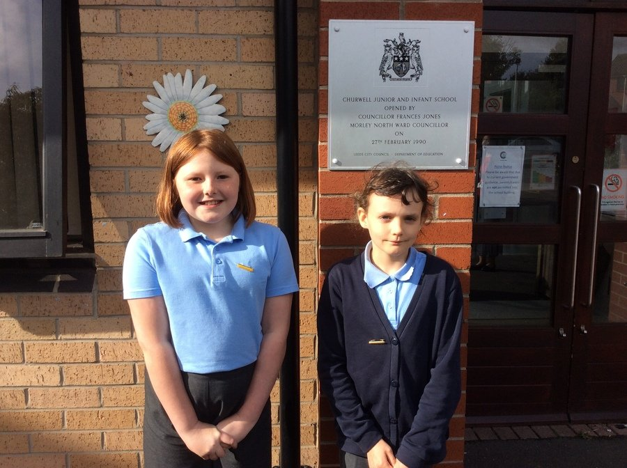 Our School Council Year 6 Lead and Secretry