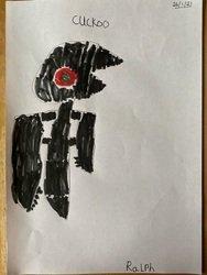 Ralph's Cuckoo drawing