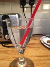 Jenson's experiment on the refraction of light