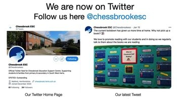January - Follow Chessbrook on Twitter