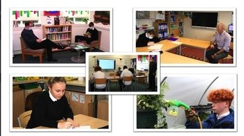 January - Students working hard through third lockdown