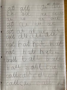 Eli's handwriting