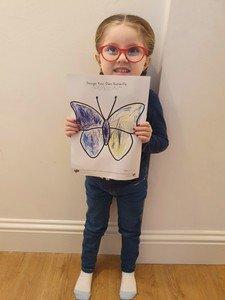 Grace's butterfly
