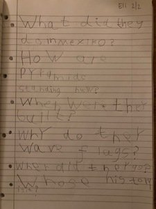 Eli's questions about Mexico