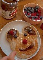 Izah & Zariah's mini mouse pancakes