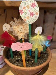 Jess' story puppets