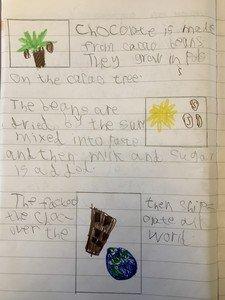 Charlie's chocolate leaflet