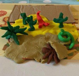 Ralph's playdough desert