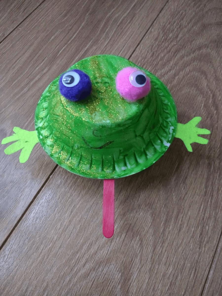 Khadijah's frog