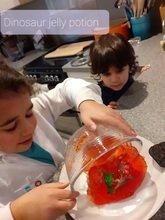 Hannah's dinosaur jelly